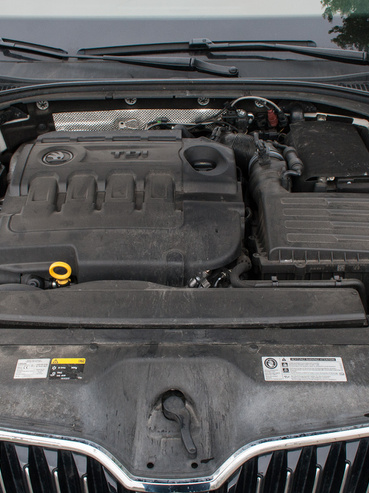 Nem érződött gyengébbnek, és jobban fogyasztott a Skoda TDI motorja