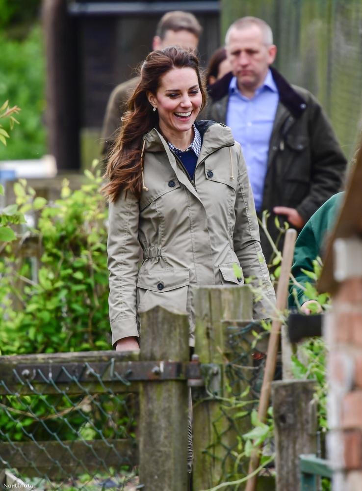 Katalin boldogan fedezte fel a vidéki Angliát.