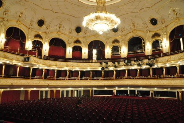 A Budapesti Operettszínház nézőtere