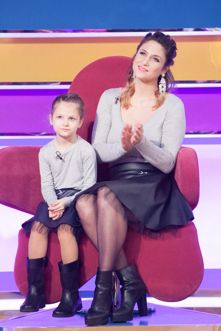 Laky Zsuzsi és lánya összeöltöztek a TV2 műsorában.