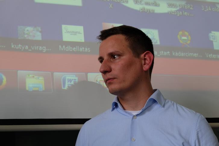 dr. Zsigmond Gábor, aki nagyon tolja a múzeum témáját