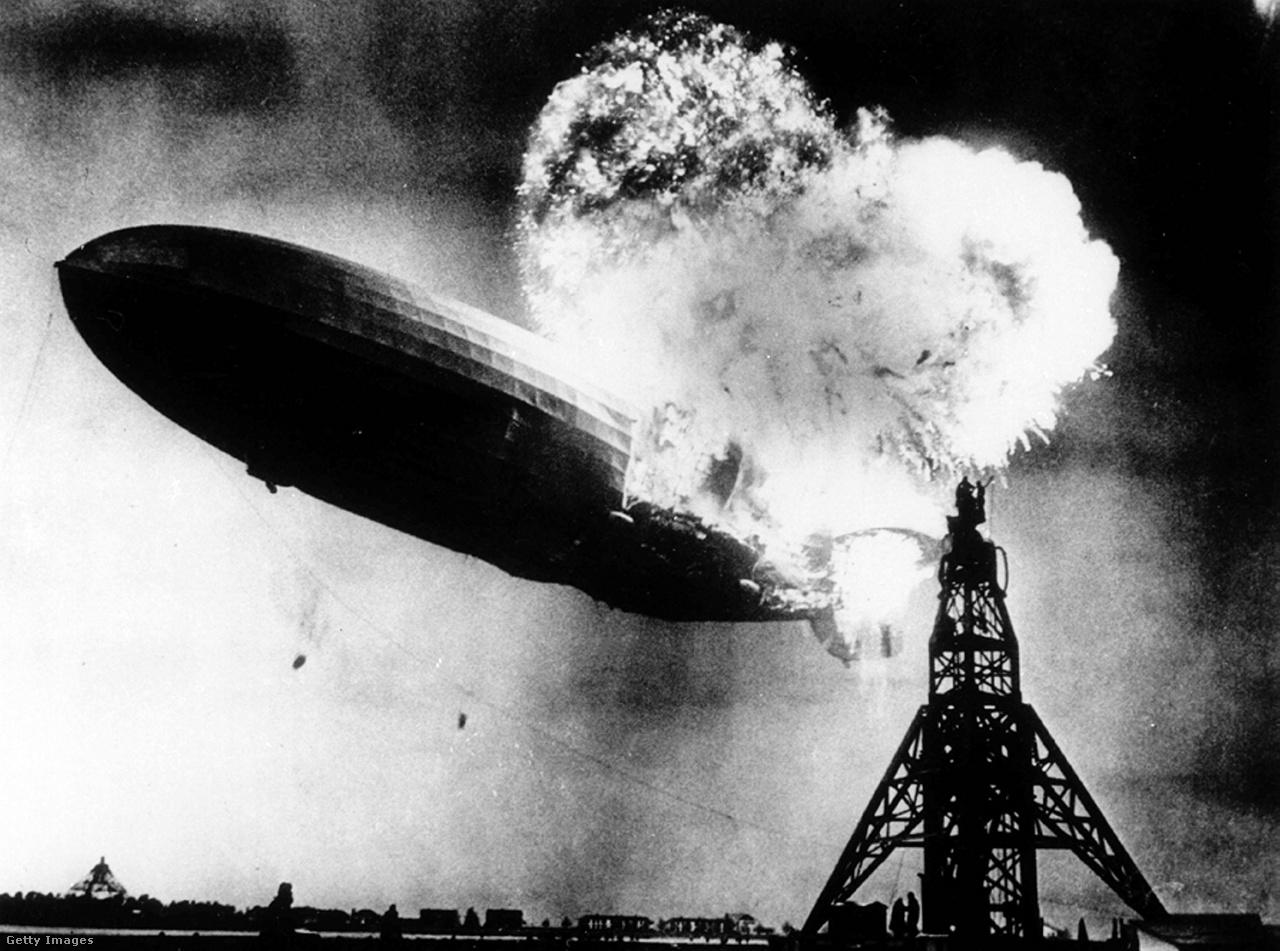 A repüléstörténet egyik legjobban dokumentált katasztrófájának képei.