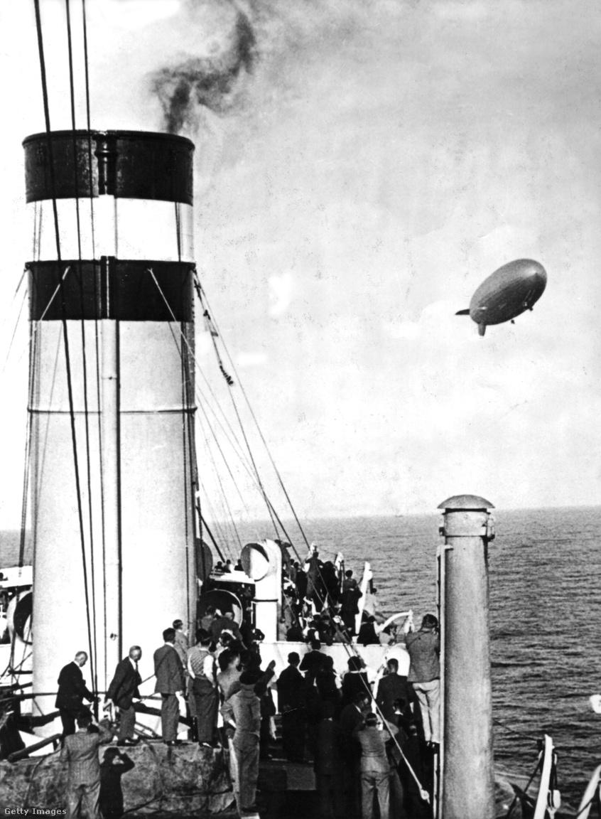 1936. április 4. Visszaindul Németországba a Hindenburg első dél-amerikai útjáról.