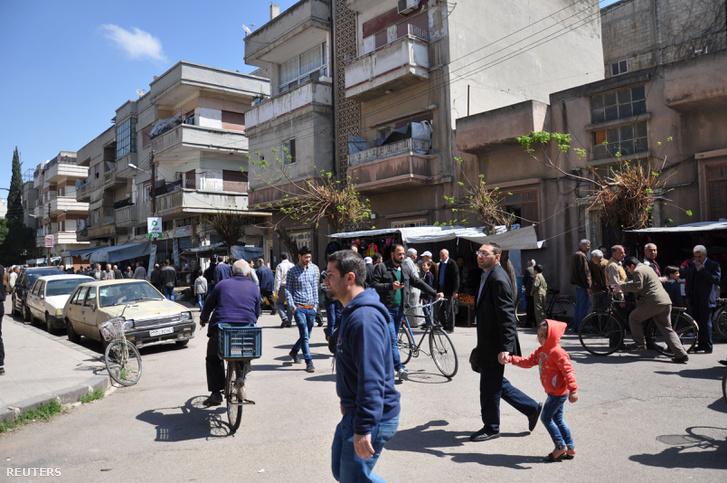 Homsz 2017. április 7-én. A béke szigetévé válhat?