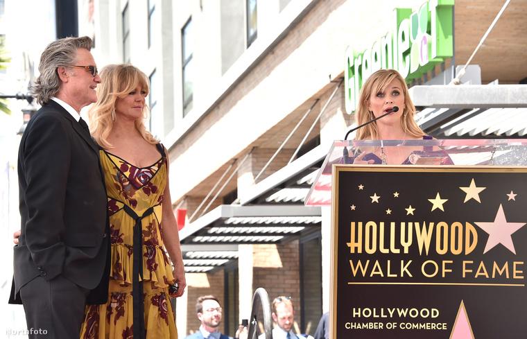 Viszonylag ritka, hogy a Hollywoodi hírességek sétányán egy időben ketten kapnának csillagot,