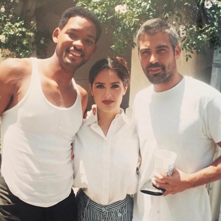 Will Smith, Salma Hayek és az alig felismerhető George Clooney