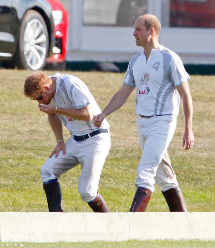 Jesszus, ez mi?! - aggodalmaskodik Harry herceg.