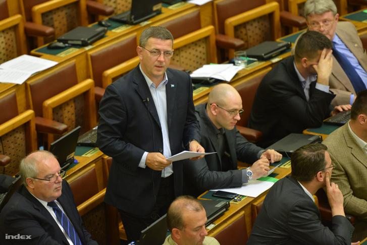 Szilágyi György jobbikos képviselő