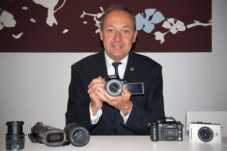 Laurent Abadie, a Panasonic európai vezérigazgatója (Fotó: Sárközi Péter)