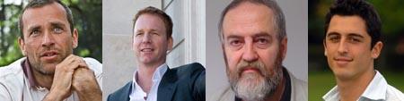 Joós István, Bognár Botond, Zsolnai László és Simon Cohen