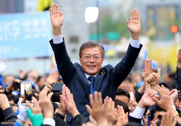 A legesélyesebb jelölt atomfegyvermentes Koreai-félszigetet szeretne
