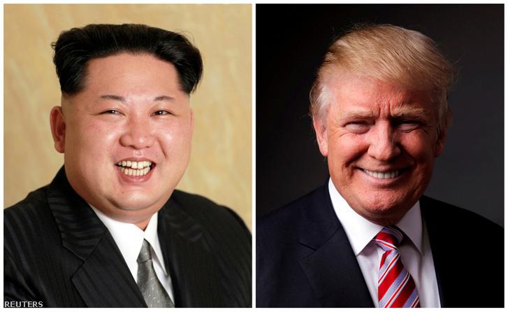 Kim Dzsongun és Donald Trump találkozóját már felvetette az amerikai elnök