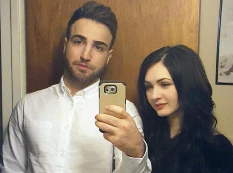 Az elkövető, Agar Hassan és az áldozat, Melinda Vasilje.