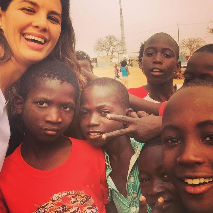 Ördög Nóra viszont egy UNICEF-es képpel dobbantott még másfél éve.