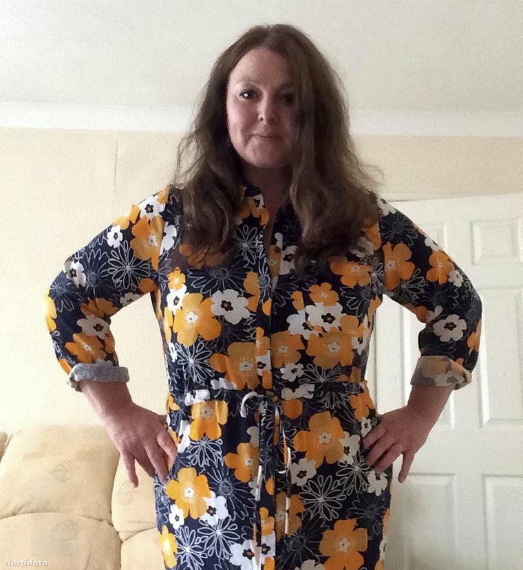 Sharon Martin majdnem a testsúly felétől megszabadult.