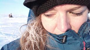 Jegesmedvék hajkurászták az északnyugati átjáróban túrázó magyar lányt