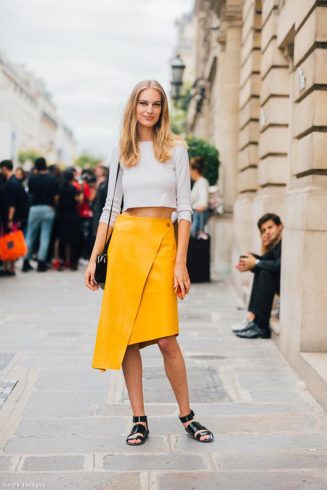 A 21 éves modell New Yorkban él, mint Mihalik Enikő