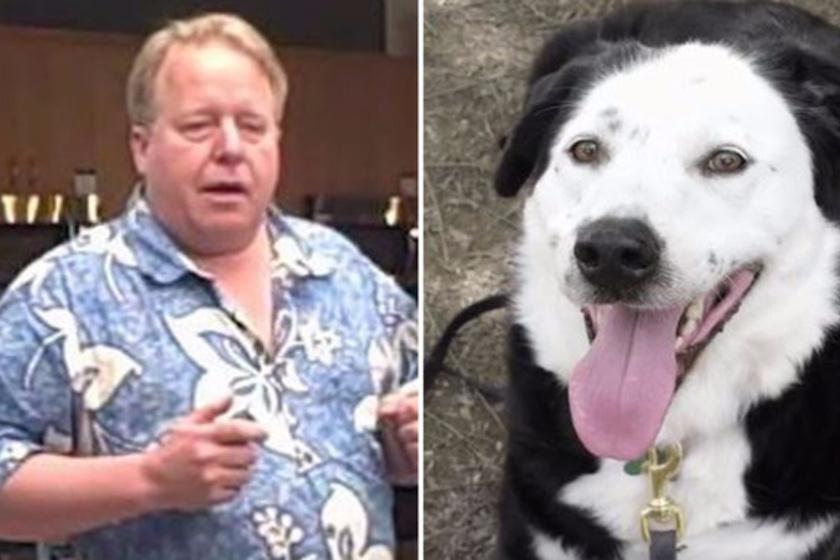Eric O'Grey 133 kilós túlsúlya és diabétesze az életét is veszélyeztette, ám, amikor örökbe fogadta kutyusát, drasztikus változás állt be az életében.