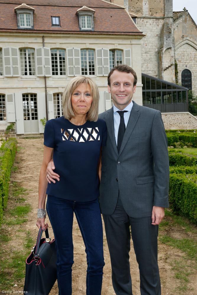 A lényeg:Macron gimnáziumi tanárát vette feleségül, a korkülönbség köztük 24 év
