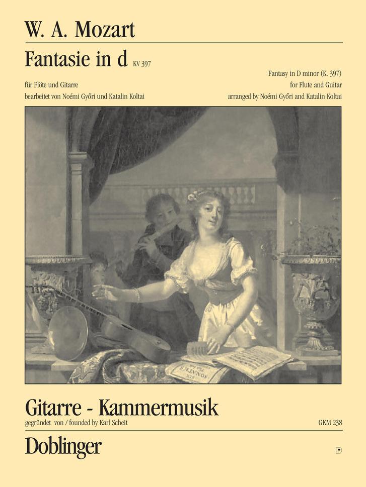Mozart d-moll Fantáziája Győri Noémi és Koltai Katalin átiratában - a Doblinger kiadványa