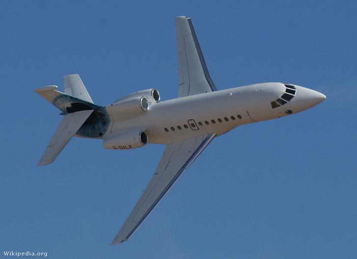 Így néz ki a Dassault Falcon 900EX