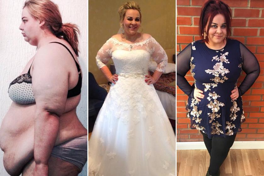 Jayne 151 kilóról kezdett. Napi 1200-1400 kalóriával 97 kilóra fogyott, sőt, két hónapja nem dohányzik.