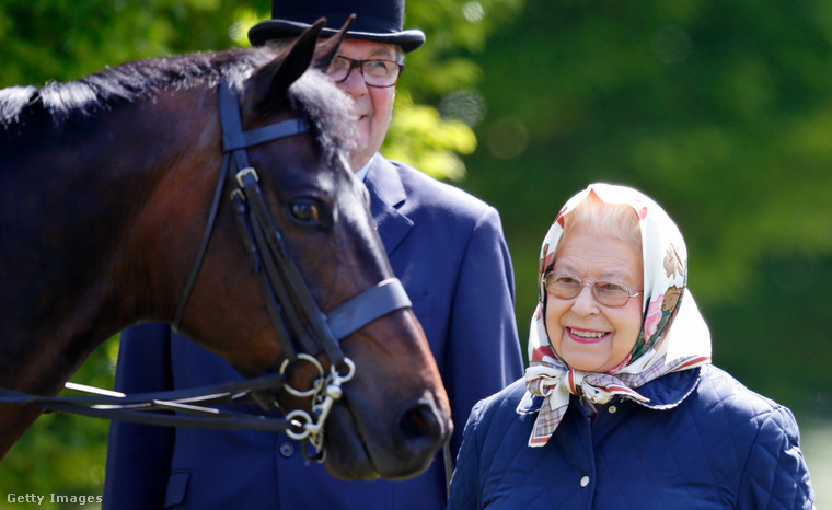 Május 12-én rendezték meg a Windsori Királyi Lovas Bemutatót a windsori kastély területén
