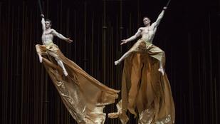 A Cirque du Soleil artistái már a próbán szédítőek