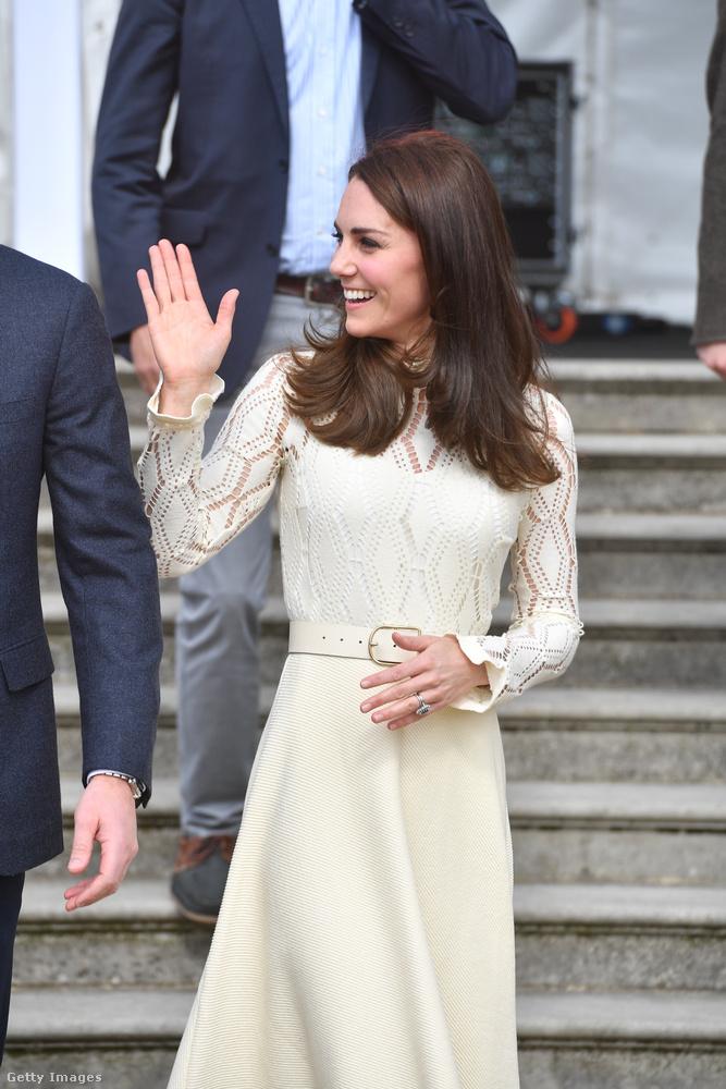 Katalin hercegné, Vilmos és Harry herceg szombat délutáni programjáról számolunk be önnek