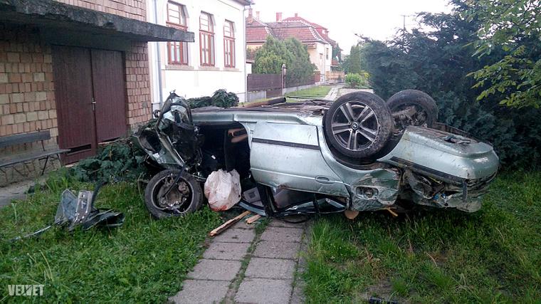 Súlyos baleset történt Hévízgyörkön.