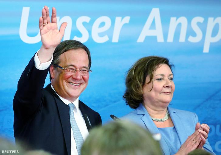 Armin Laschet a CDU jelöltje.