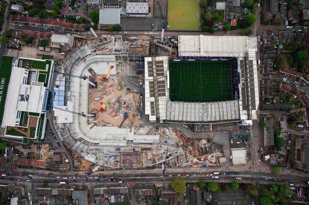 Aerial-pictures-of-Tottenham-hotspurs-new-stadium
