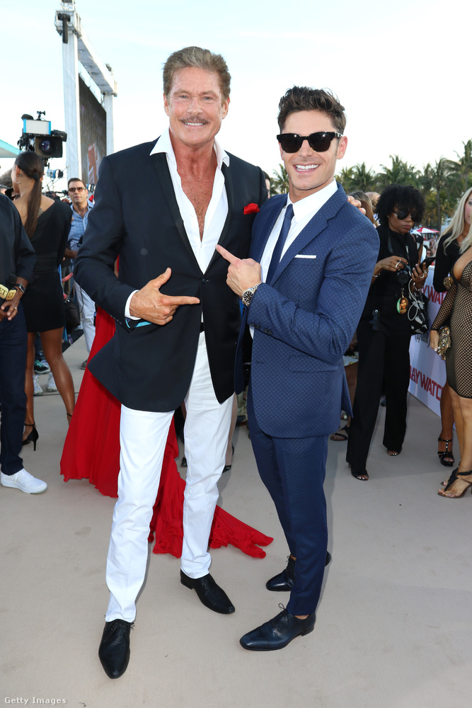 Az esemény Miamiben volt, és ott volt természetesen Zac Efron is