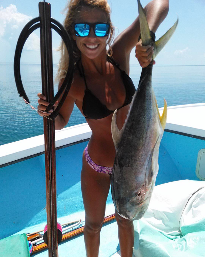 hanem szigonyhalászként is szép eredményekkel büszkélkedhet.