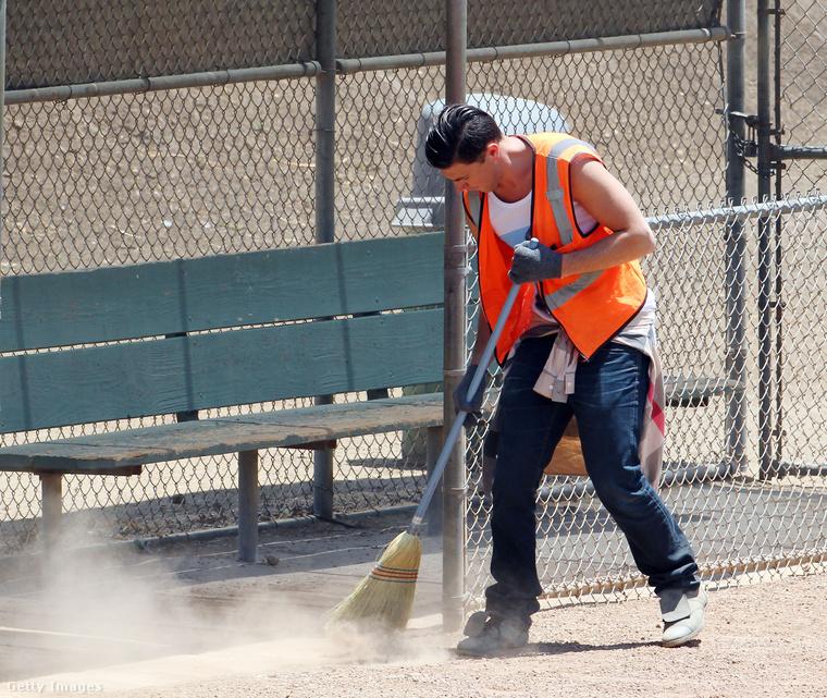 A Los Angeles-i bíróság büntetését Sediuk elfogadta, és elvégezte a többszáz óra közmunkát