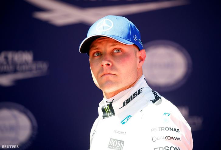Valtteri Bottas - csapatjátékos