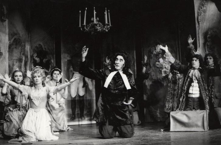 Az imposztor 1983 október rendező: Zsámbéki Gábor