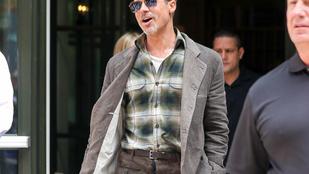 Brad Pittnek most már adjon valaki enni!