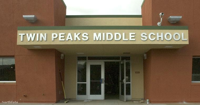 A Twin Peaks gimnáziuma.