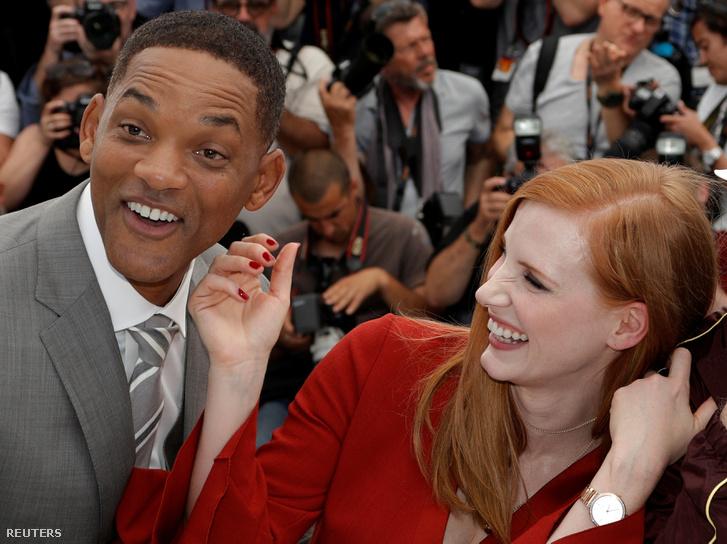 Smith és Jessica Chastain