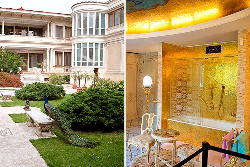 Ceaușescués felesége, Elena a Primaverii-, azaz Tavasz-palotában éltek. A pompás berendezés nagyzási hóbortról, az alatta lévő bunker üldözési mániáról árulkodik. A villára ezrek kíváncsiak.