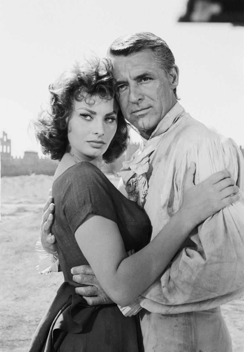 Sophia Loren és Cary Grant.
