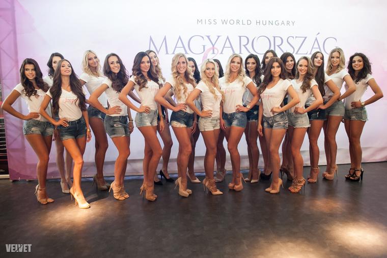 A középdöntőbe jutó lányokat egyesével ebben a nagyszerű galériában mutattuk meg - érdemes megnézni az összeállítást.