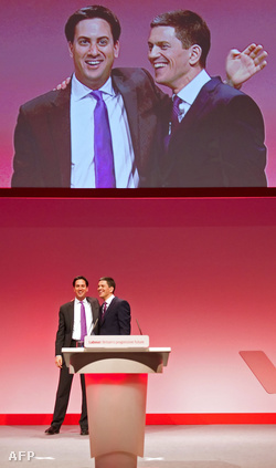 Ed Miliband és David Miliband