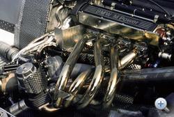 Rázós kezdés után a BMW soros, négyhengeres M12 turbója lett a mezőny egyik legerősebb erőforrása: 1350 lóerőt tudott 1986-ban