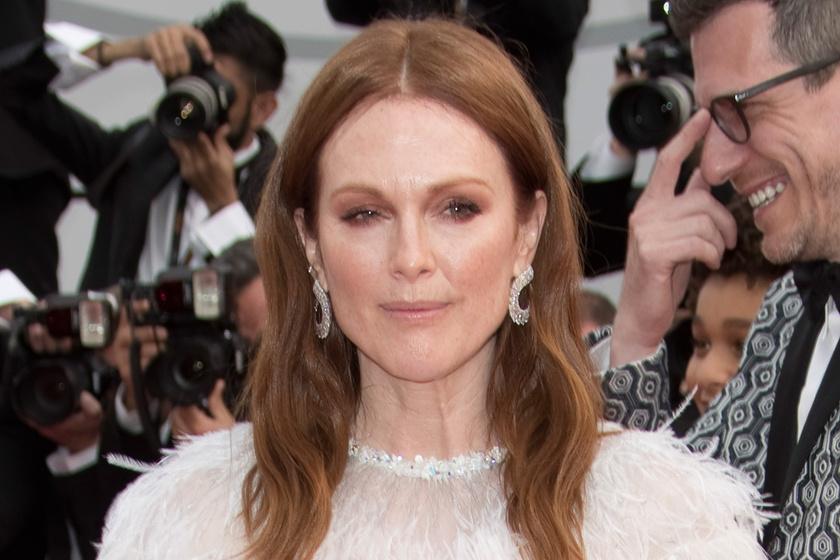 Julianne Moore Cannes-ban - Ebben az estélyiben túlragyogta a fiatal színésznőket is