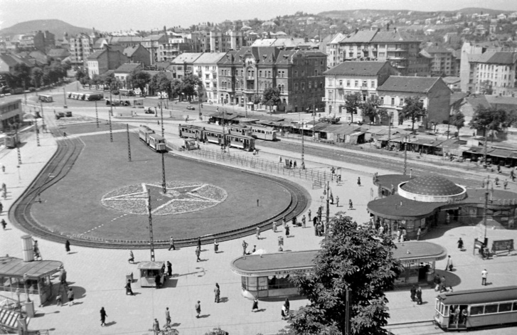 Moszkva tér 1952