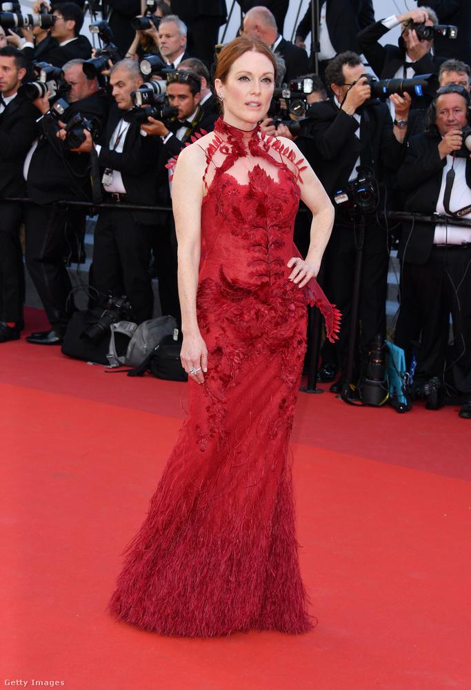 Üdvözöljük önt ebben a lapozgatóban, amiben megmutatjuk, mi mindenben parádézott eddig Julianne Moore a Cannes-i filmfesztiválon