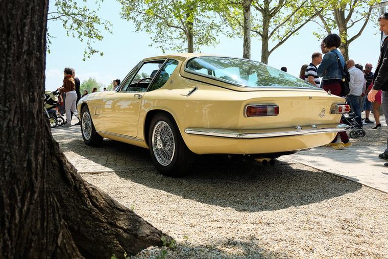 Mindenki hatvanas évek végi járműnek hiszi, de a Mistral sokkal korábbi annál - 1964-ben mutatták be, és ez a példány ráadásul akkor is készült