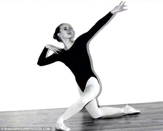 Amy Adams fiatal balettnövendékként